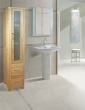 Mobel Oak Tall Closed Bathroom Unit