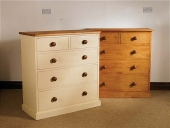 Mottisfont Painted 2 Over 3 Chest Of Drawers