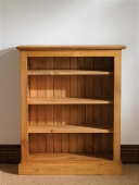 Mottisfont Waxed Bookcase Medium