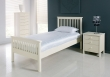 Atlantis Ivory Bedstead - 90cm - Single (Sprung Slats)
