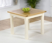 Provencal Kitchen Square Dining Table - 90cm 