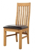 Clermont Oak Dining Chairs - Pair
