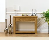 Palermo Oak Console Table