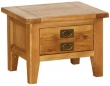 Vancouver Oak Petite Small 2 Drawer Coffee Table