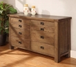 Brooklyn Long 8 Drawer Chest of Drawers