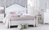 Montpelier White Painted Bed  - Single, Double or King Size