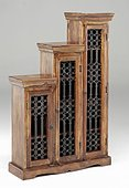 Jali Tall Step CD Cabinet - left or right step