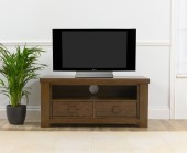 Palermo Dark Oak Medium 2 Drawer TV Unit