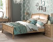 Heritage Oak Bed - Double & King Size