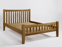 Westbury Reclaimed Oak Double Bed