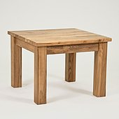 Lansdown Oak Square Coffee Table - 60 cm