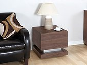 Jual Cube Walnut Lamp Table JF613